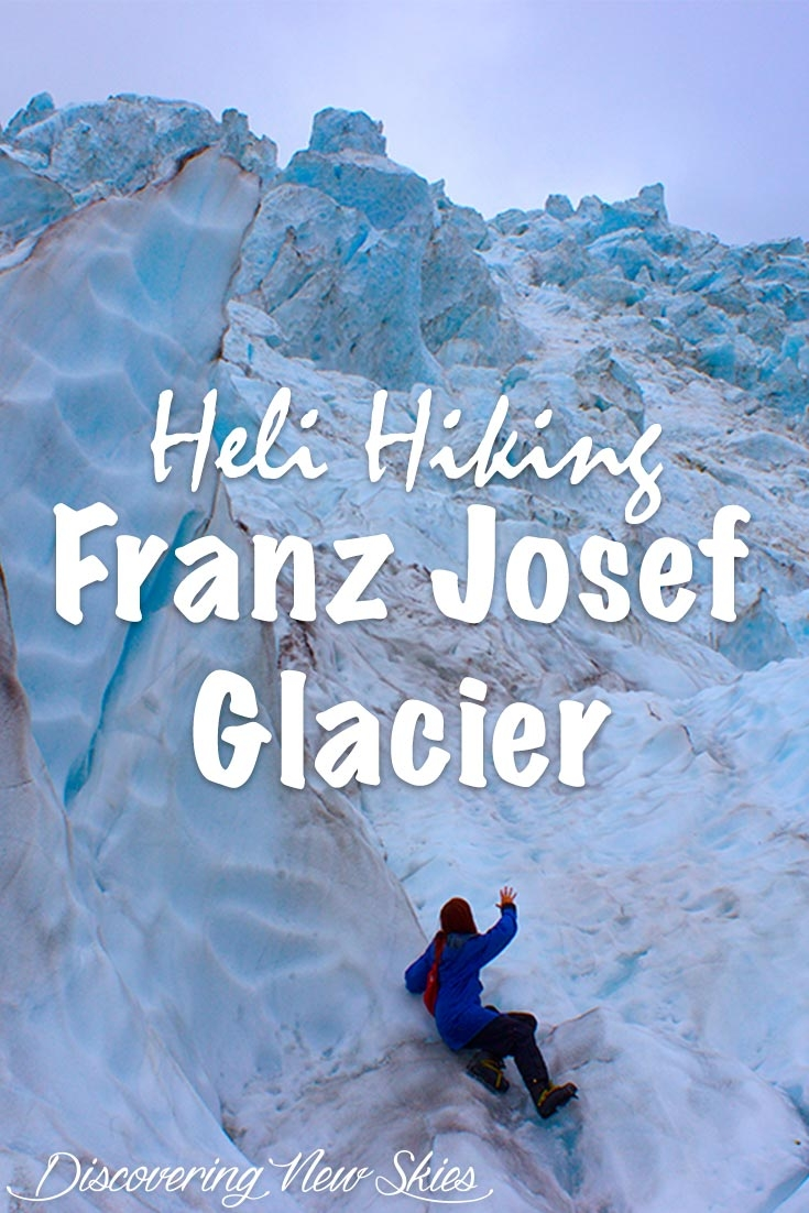 Heli-hiking Franz Josef Glacier - New Zealand