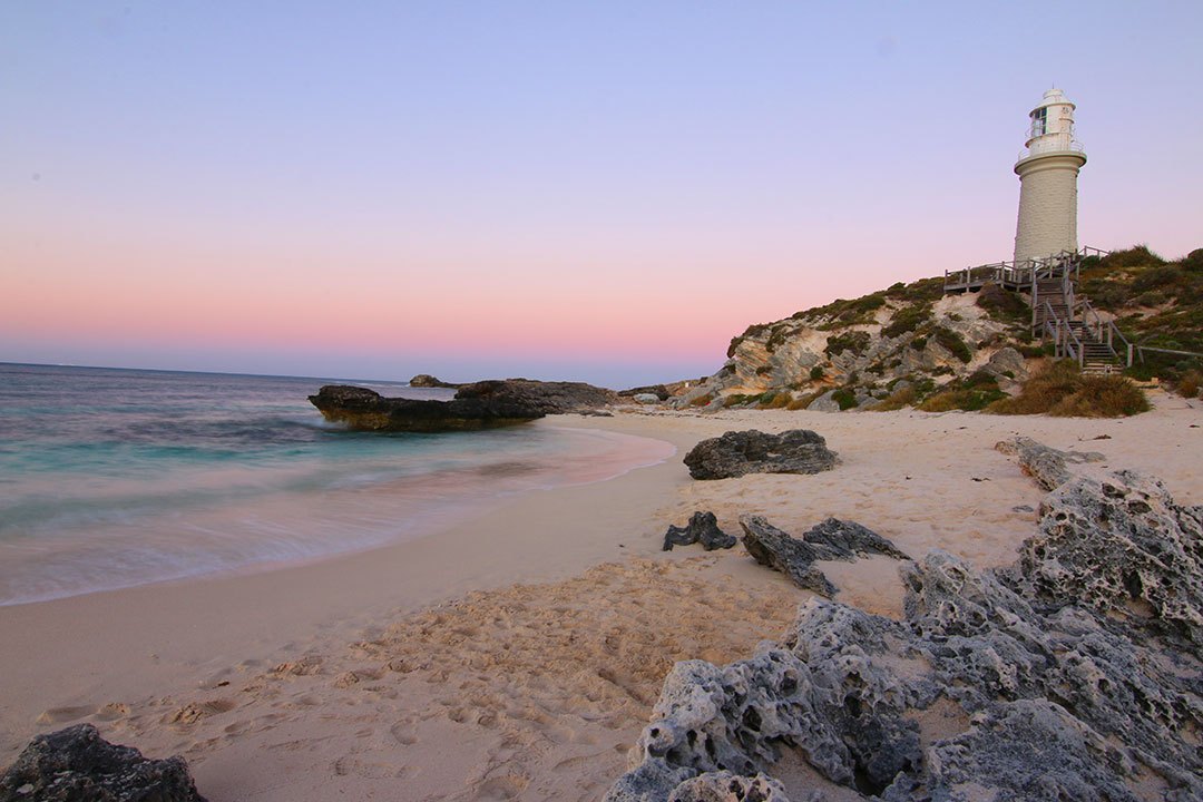 Beach Sunset on Rottnest Island