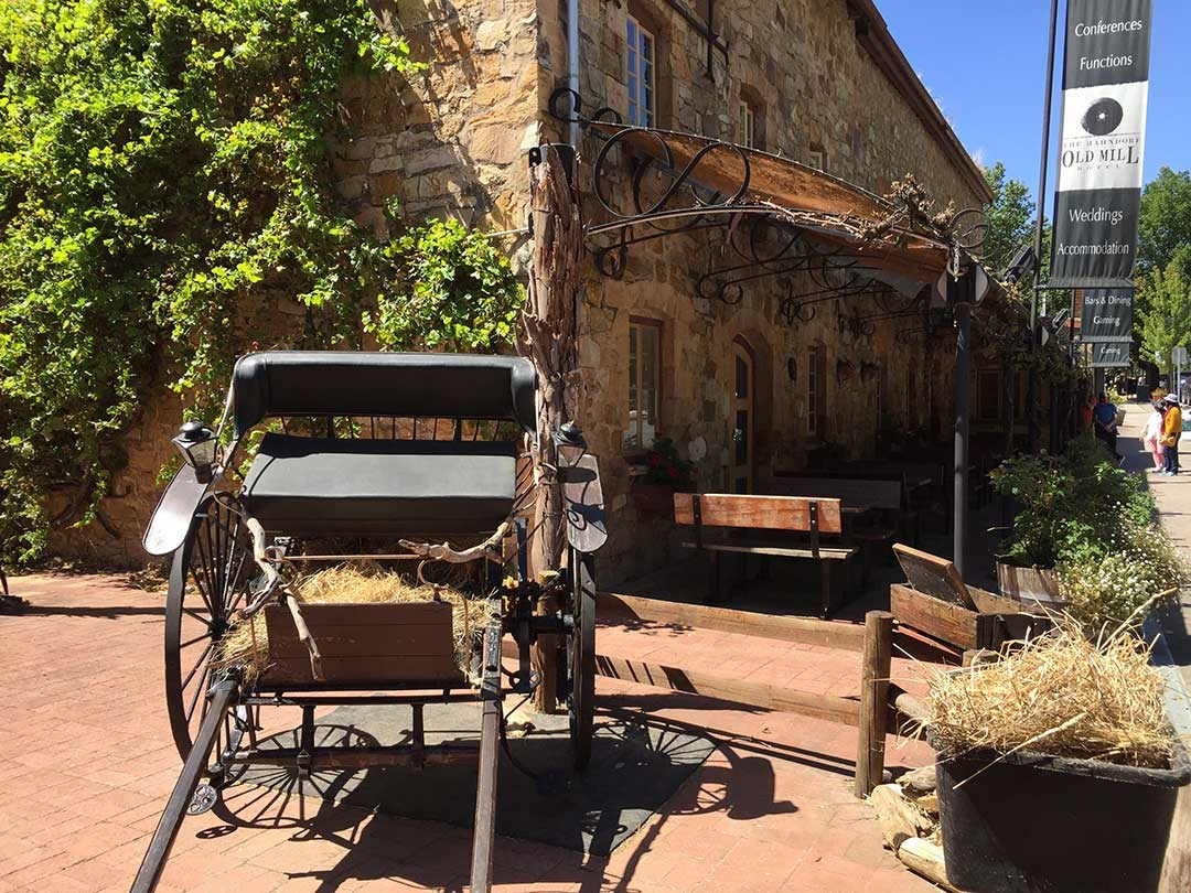 Little town of Hahndorf in the Adelaide Hills