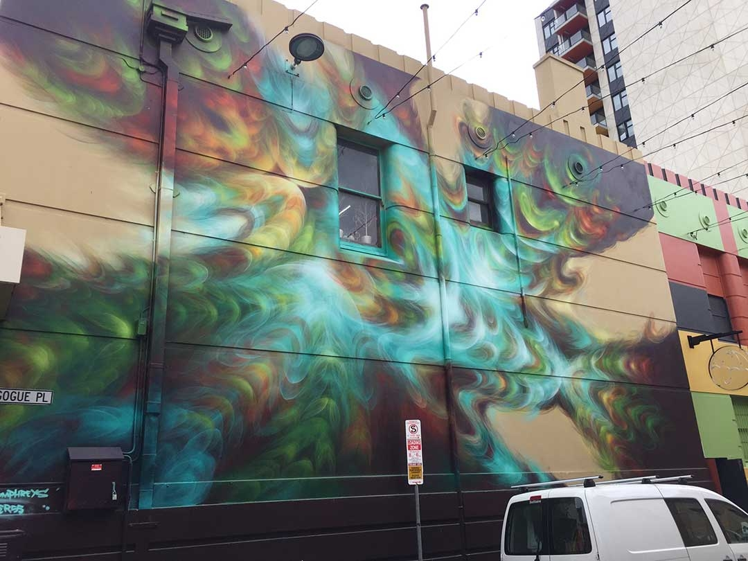 Incredible street art found around the streets of Adelaide city in South Australia