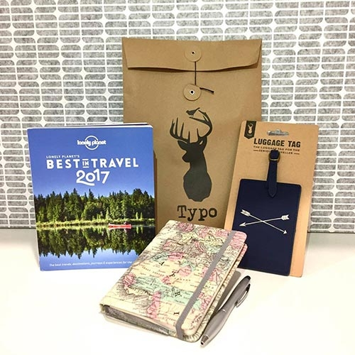 Win a Lonely Planet Travel book, Travel diary and luggage tag with Discovering New Skies