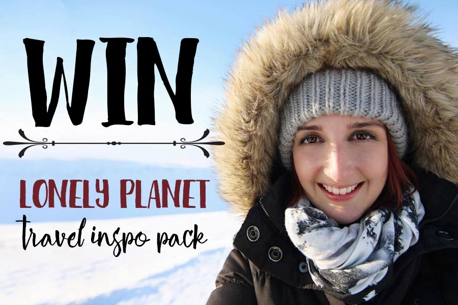Win a Lonely Planet travel inspiration pack